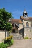Francja malownicza wioska Montreuil sura Epte Obrazy Stock