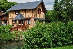 Francja, malownicza wioska Ry Obrazy Royalty Free
