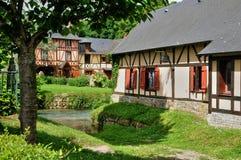 Francja, malownicza wioska Ry Zdjęcia Royalty Free