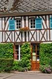 Francja, malownicza wioska Ry Zdjęcie Royalty Free