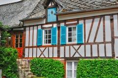 Francja, malownicza wioska Ry w wontonie Morskim Zdjęcia Royalty Free