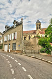 Francja malownicza wioska Vetheuil Fotografia Royalty Free