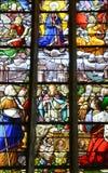 Francja malowniczy miasto Ivry los angeles Bataille Obrazy Stock