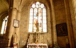 Francja malowniczy miasto Ivry los angeles Bataille Zdjęcia Royalty Free