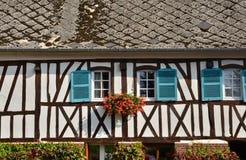 Francja, malowniczy miasto Morski Ry wonton Zdjęcie Royalty Free