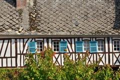 Francja, malowniczy miasto Morski Ry wonton Obrazy Stock