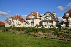 Francja malowniczy miasto Neufchatel Hardelot Zdjęcie Stock