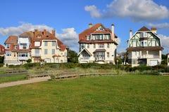 Francja malowniczy miasto Neufchatel Hardelot Obraz Royalty Free