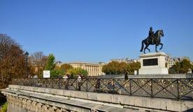 Francja malowniczy miasto Paryż obraz stock