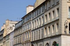 Francja malowniczy miasto Versailles Zdjęcia Royalty Free