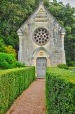 Francja, malowniczy ogród Marqueyssac w Dordogne Zdjęcie Stock