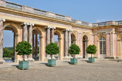 Francja Maria Antoinette nieruchomość w parc Versailles Pa Zdjęcia Stock