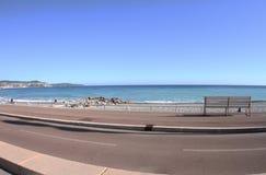Francja, morze i relaks, Ładny, zdjęcie stock