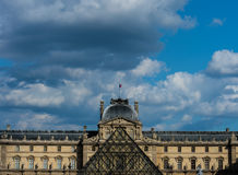 Francja Paryż louvre Zdjęcie Royalty Free