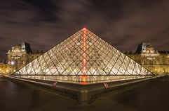 Francja Paryż louvre Obraz Royalty Free
