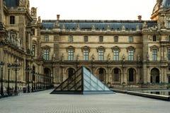 Francja Paryż louvre Obrazy Royalty Free