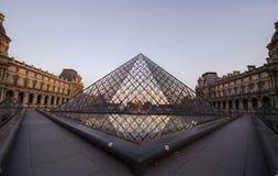 Francja Paryż louvre Zdjęcia Royalty Free