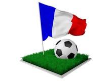 Francja piłka nożna Zdjęcia Royalty Free