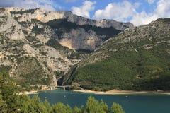 Francja plaża Obrazy Stock