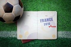 Francja 2016 pojęcie Fotografia Royalty Free