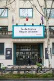 Francja Région solidaire obraz royalty free
