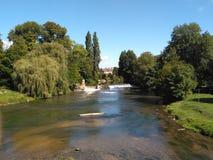 12 72 04 Francja 2000 rzeka Fotografia Royalty Free