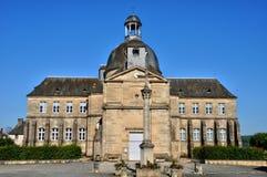 Francja, stary szpital Hautefort zdjęcia stock