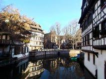Francja Strasbourg zdjęcia royalty free