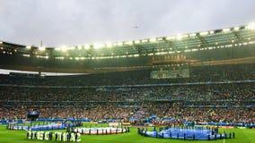 Francja Vs Iceland Kwartalnego finału euro 2016 Fotografia Stock