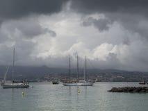 Francja zatoka Obrazy Royalty Free