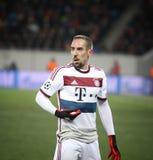 Franck Ribery de Bayern Munich Imagens de Stock