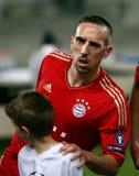 Franck Ribery di Baviera Munchen Immagini Stock