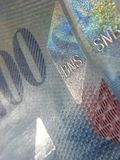francks кредиток швейцарские Стоковое фото RF