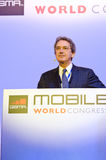 Franco Bernabè, CEO of Telecom Italia Stock Photo