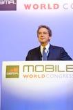 Franco Bernabè, CEO of Telecom Italia Stock Photo