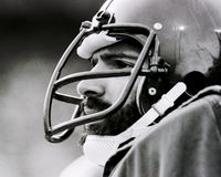 Franco Harris Pittsburgh Steelers. Former Pittsburgh Steelers Hall of Fame RB, Franco Harris. (Image taken from B&W negative Stock Images