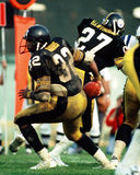 Franco Harris Pittsburgh Steelers. Pittsburgh Steelers Hall of Fame RB Franco Harris. (Image taken from color slide Stock Images
