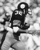 Franco Harris. Pittsburgh Steelers RB Franco Harris, #32.  (Image taken from B&W negative Stock Photography