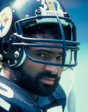 Franco Harris. Pittsburgh Steelers RB Franco Harris.  (Image taken from color slide Stock Photography