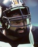 Franco Harris. Pittsburgh Steelers RB Franco Harris, #32. (Image taken from color slide Stock Image