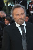 Franco Nero. CANNES, FRANCE - MAY 24, 2014: Franco Nero at the gala awards ceremony at the 67th Festival de Cannes Royalty Free Stock Photos