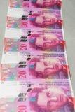 Franco suíço Imagem de Stock Royalty Free