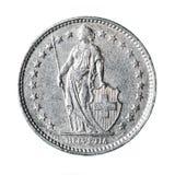 Franco suizo imágenes de archivo libres de regalías