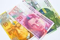 Franco svizzero immagini stock