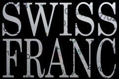 Franco svizzero Fotografia Stock Libera da Diritti