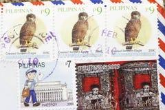Francobolli delle Filippine Immagine Stock