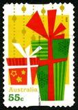 Francobollo australiano di Natale Immagini Stock Libere da Diritti