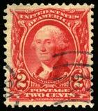 Francobollo d'annata degli Stati Uniti di presidente Washington 1902 Immagini Stock Libere da Diritti