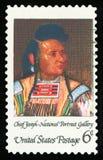 Francobollo degli Stati Uniti Fotografia Stock Libera da Diritti