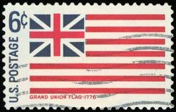 Francobollo degli Stati Uniti Immagini Stock Libere da Diritti